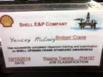 Shell rigging cv
