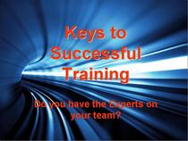 Keys to successful training cv