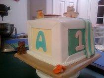 Babyshower cake cv