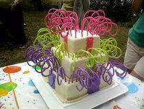 Birthday cake 2 cv