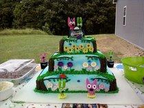 Hoops and yoyo cake cv