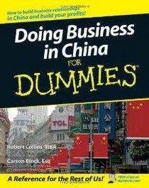 Biz in china  cv