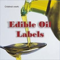 Edible oil labels cv