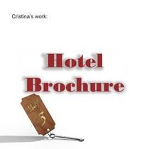 Hotel brochure cv