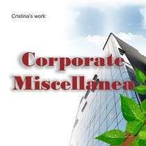 Corporate miscellanea cv