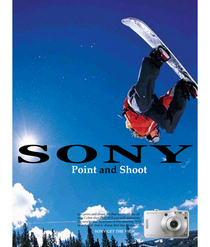 Sony camera ad 3 cv