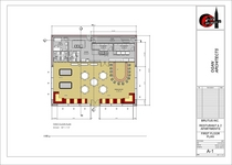 Restaurant elevations new 1st floor plan cv