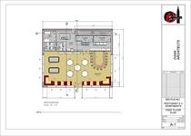 Restaurant elevations new 1st floor plan cv