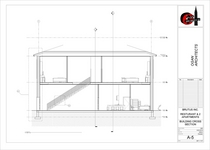 Restaurant elevations new building cv