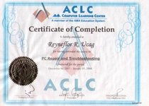 Certificate pc repair acls 1  cv