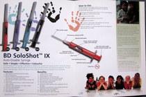Soloshot ix inside spread cv