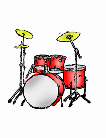 Drum set stock cv
