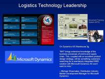 Logistics technology leadership cv