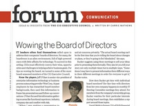 Portfolio of proof   cio article   wowing the board of directors cv