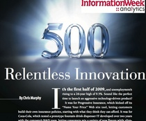 Portfolio of proof   informationweek 500 2009   relentless innovation cv