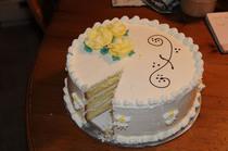 3 layer sponge cake cv