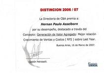Premios cv