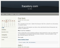 Wordpress 01   fraostory cv