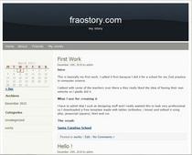 Wordpress 01   fraostory cv