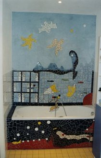 Mosaique bathroom cv