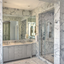 Green street marble bathroom cv