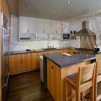 Telegraph hill townhouse kitchen cv