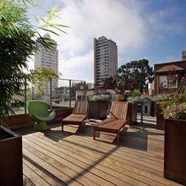 Jones street residence rooftop garden cv