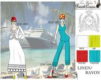 Resort cruise catalog page 7 linen rayon .ai cv