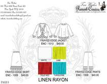 Resort cruise catalog page 8 linen rayon .ai cv