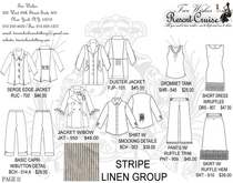 Resort cruise catalog page 11 linen stripes .ai cv