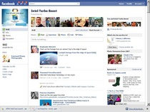 Blast off facebook page cv