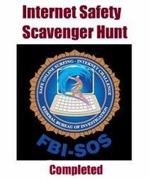 Badge internet safety scavenger hunt cv
