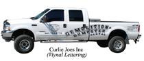 Curlyjoe truck cv