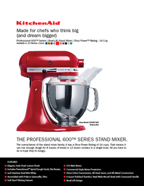Kitchenaid ad cv