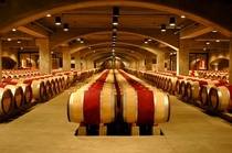 Robert mondavi winery barrell room cv