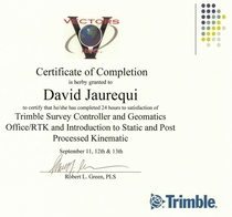 Trimble cv