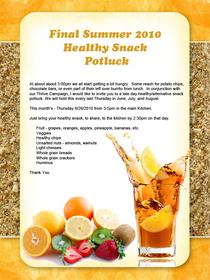 Summer healthy snack flyer v2 cv