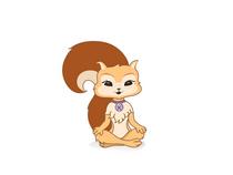 Cute girl squirrel cv