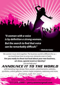Womans voice cv