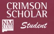Crimson scholar cv