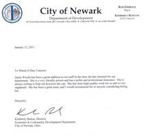 Reference letter cv