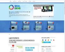 Socialcrowd website cv