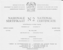 N2 technical certificate mb cv