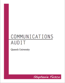 Communications audit cv