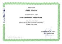 Asset management immobiliare cv
