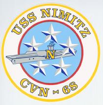Cvn 68 insignia cv