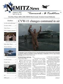 Nimitz news cv