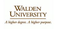 Walden university cv