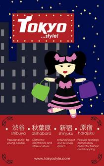 Tokyo poster 2 cv