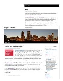 Objectstoriesblog cv